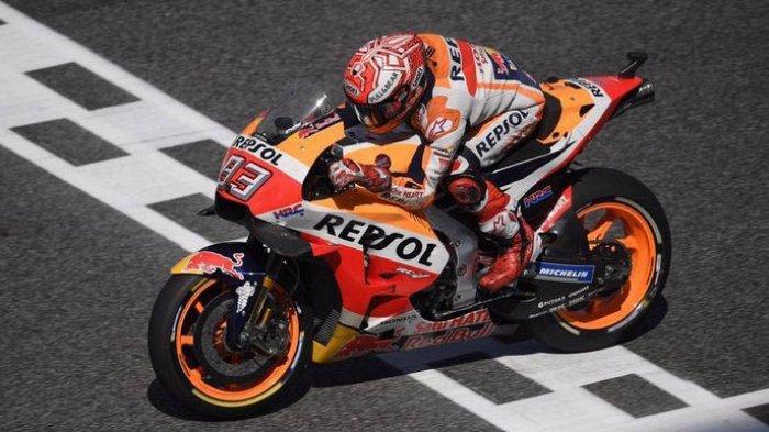 Marquez Akui Tidak Bisa 100% Pada Test MotoGP Sepang