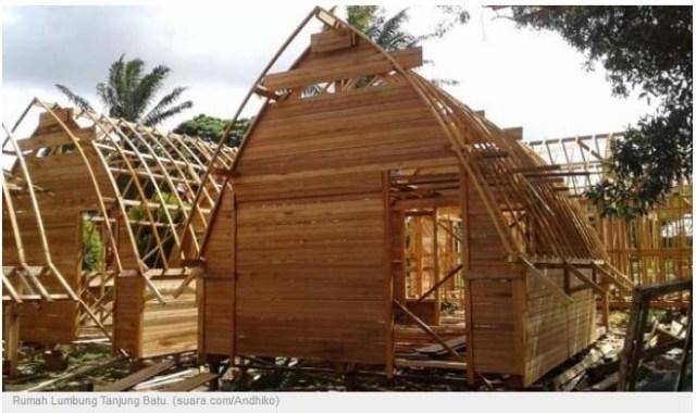 Rumah Lumbung Batu Menjadi Simbol Khas Usaha Keluarga Ogan Ilir